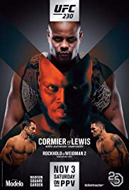UFC 230: Cormier vs. Lewis Poster