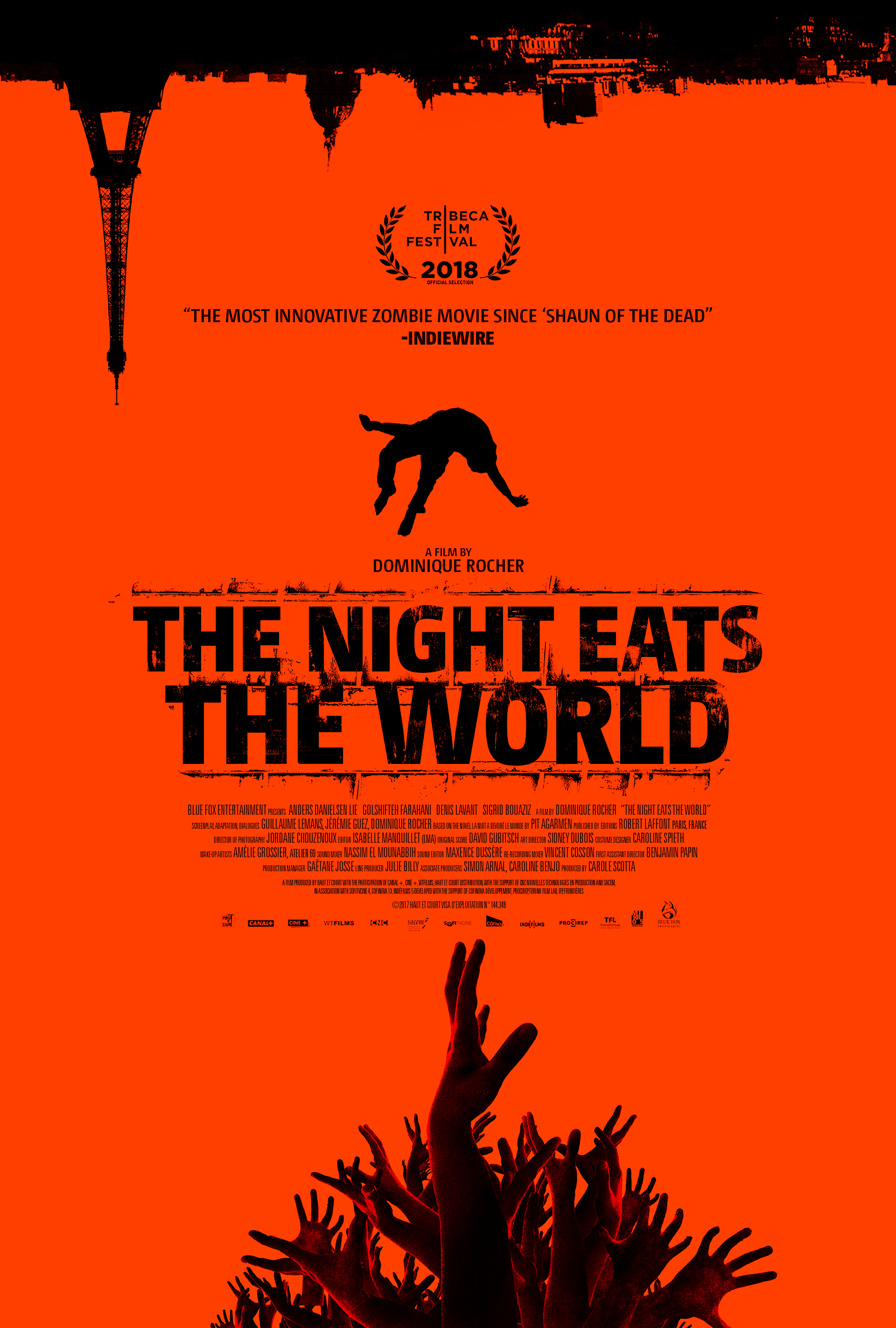 PARYŽIUS ZOMBIŲ MIESTAS (2018) / THE NIGHT EATS THE WORLD