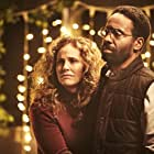 Amy Brenneman, Christopher Eccleston, and Kevin Carroll in The Leftovers (2014)