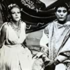 Brad Harris and Olga Schoberová in Le calde notti di Poppea (1969)