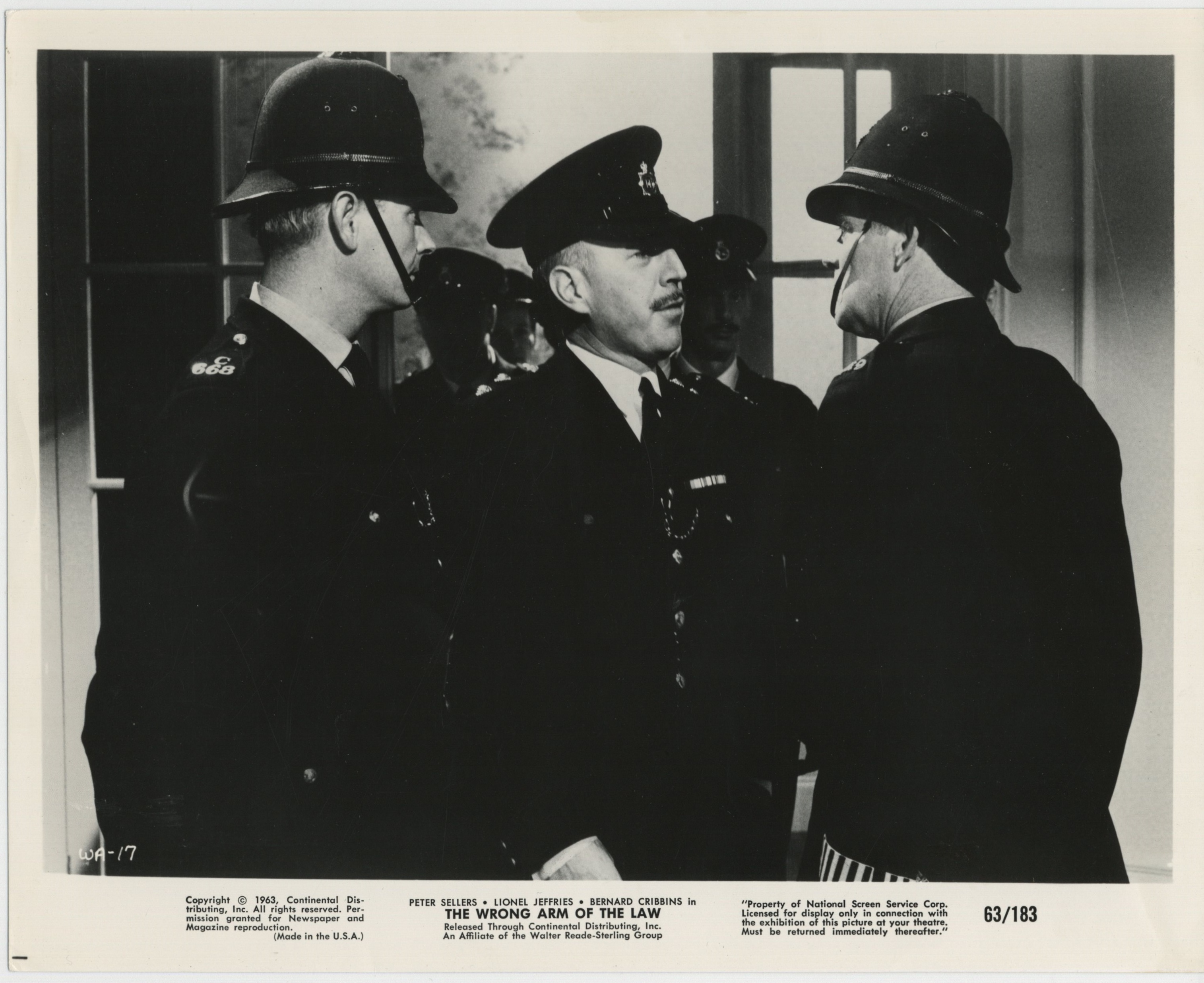 Lionel Jeffries in The Wrong Arm of the Law (1963)