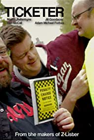 Martin Ballantyne, Robert Waters, and Ben McCall in Ticketer (2013)
