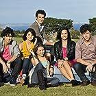 Selena Gomez, Miley Cyrus, Demi Lovato, Kevin Jonas, Joe Jonas, and Nick Jonas in Disney's Friends for Change: Send It On (2009)