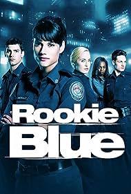 Enuka Okuma, Gregory Smith, Charlotte Sullivan, Missy Peregrym, and Travis Milne in Rookie Blue (2010)
