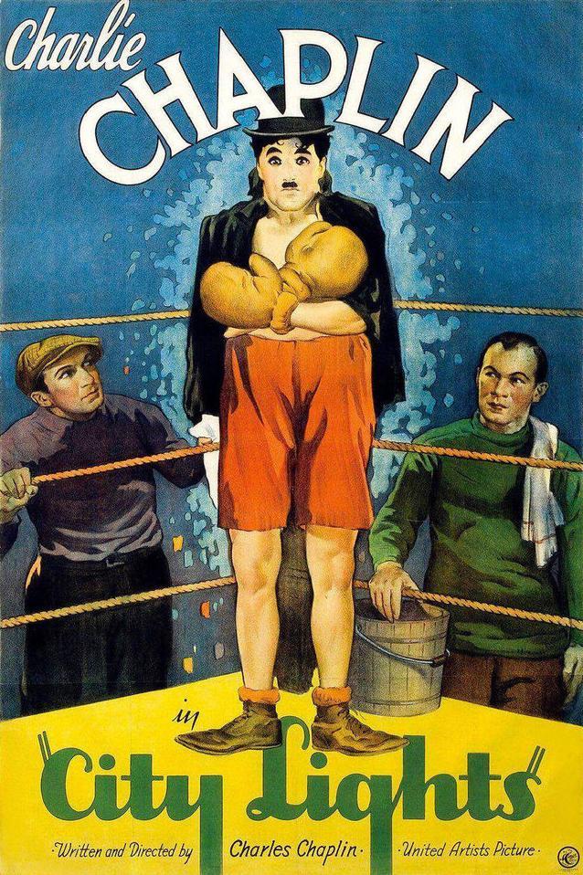 DIDMIESČIO ŽIBURIAI (1931) / CITY LIGHTS