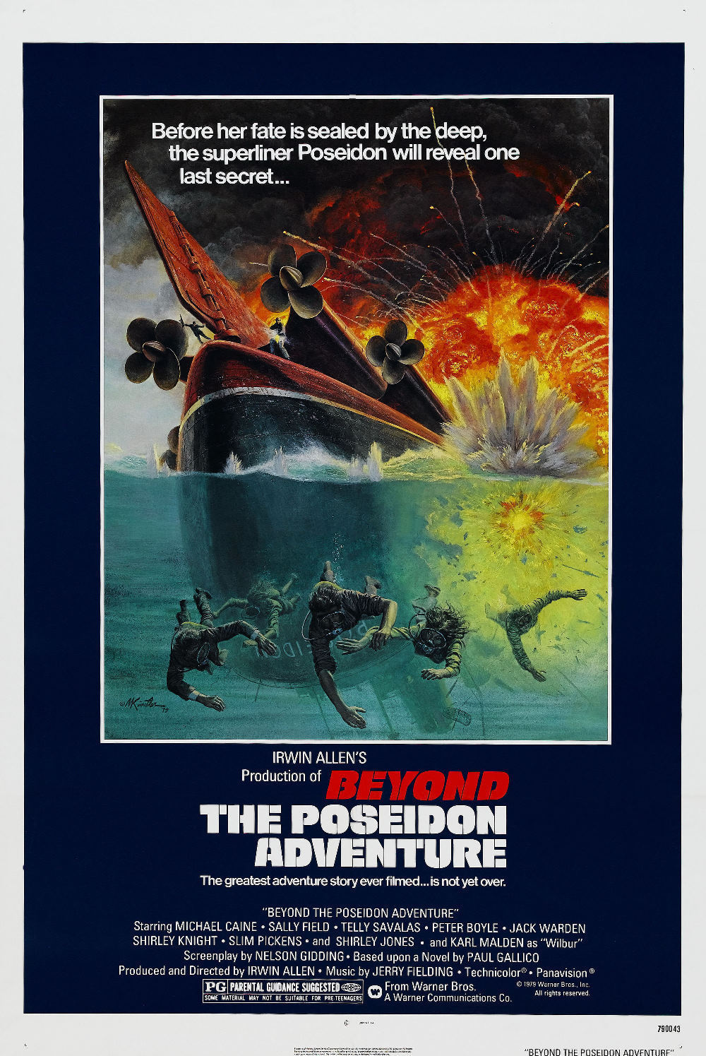 Beyond The Poseidon Adventure 1979 Imdb