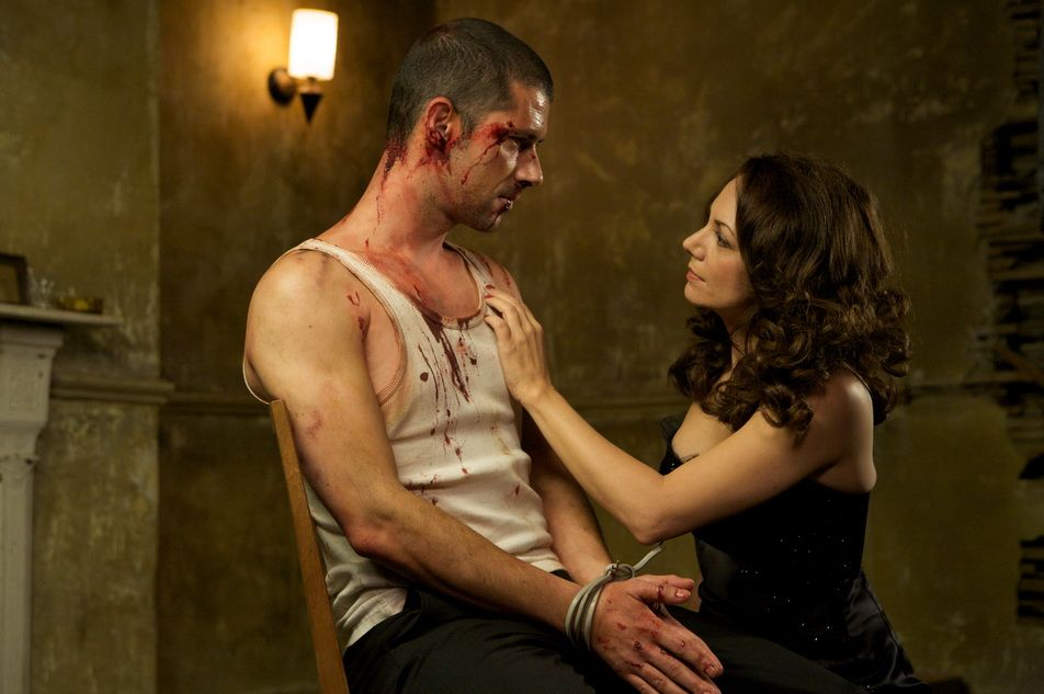 Joanne Whalley and Melvil Poupaud in 44 Inch Chest (2009)