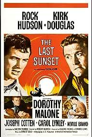 Kirk Douglas, Rock Hudson, Carol Lynley, and Dorothy Malone in The Last Sunset (1961)