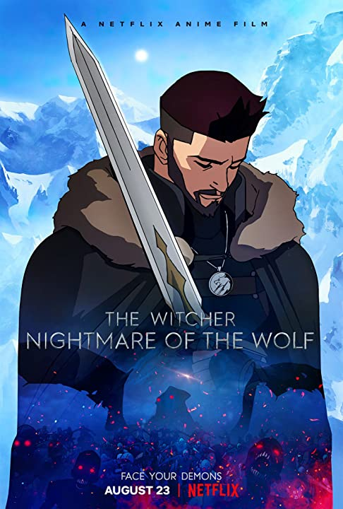 The Witcher Nightmare of the Wolf 2021 ORG Hindi Dual Audio 480p NF HDRip ESubs 300MB Download