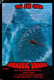 Attack of the Jurassic Shark Poster