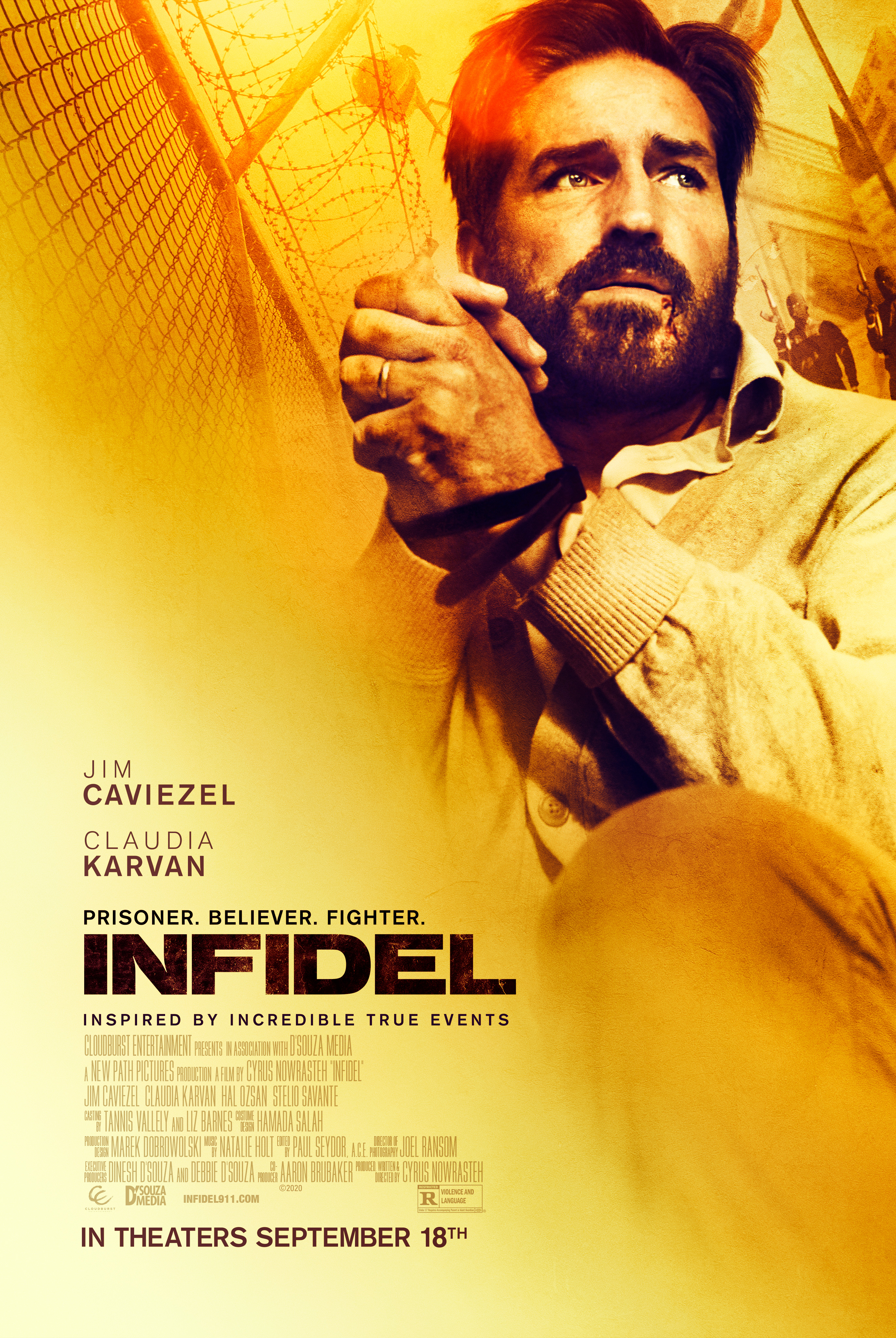 Infidel (2019) Telugu Dubbed (Voice Over) & English [Dual Audio] WebRip 720p [1XBET]