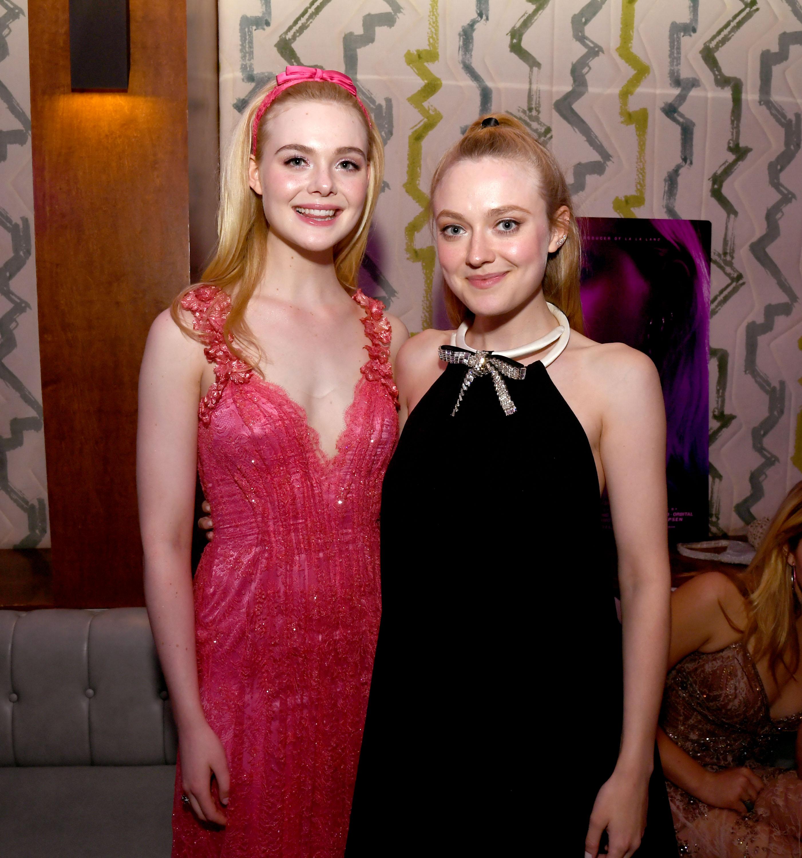Dakota Fanning and Elle Fanning