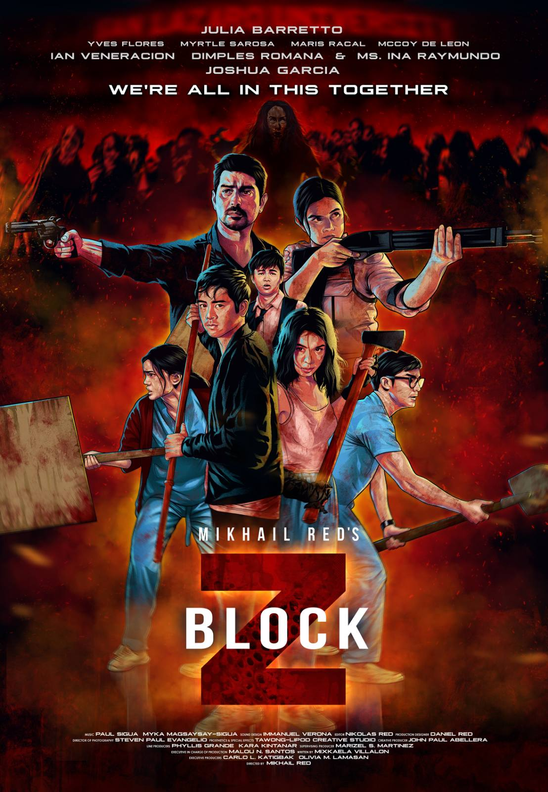 Block Z 2020 English HDRip 300MB Download