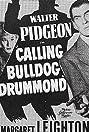 Calling Bulldog Drummond (1951) Poster