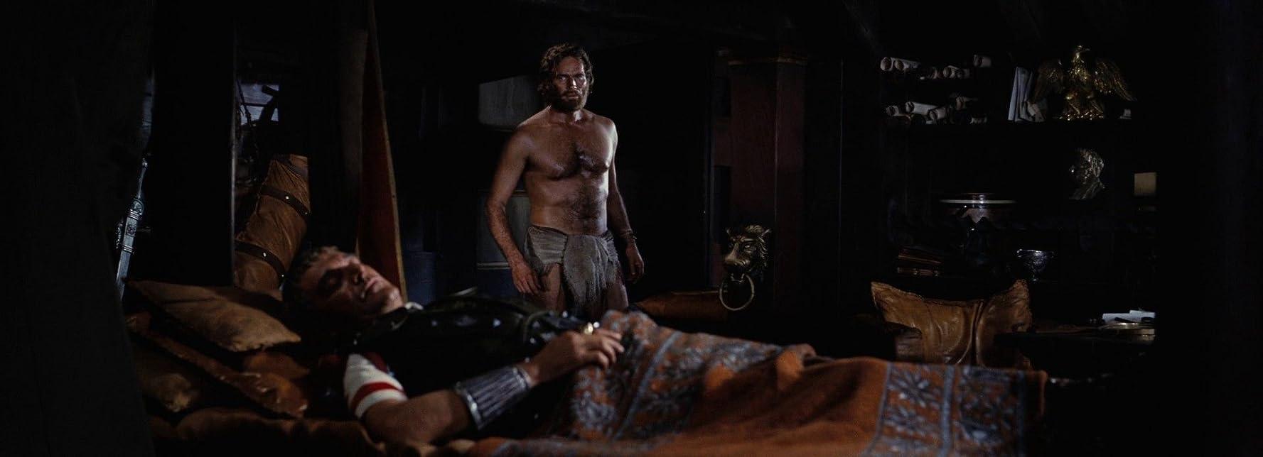 Charlton Heston and Jack Hawkins in Ben-Hur (1959)