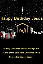Rock Christmas Music.Happy Birthday Jesus Funny Christmas Video Greeting Card