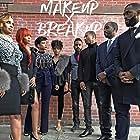 Karmia Berry, Kamel Goffin, Sean Dominic, Emilio Evans, Omar Salmon, Nicolette Ellis, Olivia Gray, and Yvette Wyatt in Makeup X Breakup (2016)