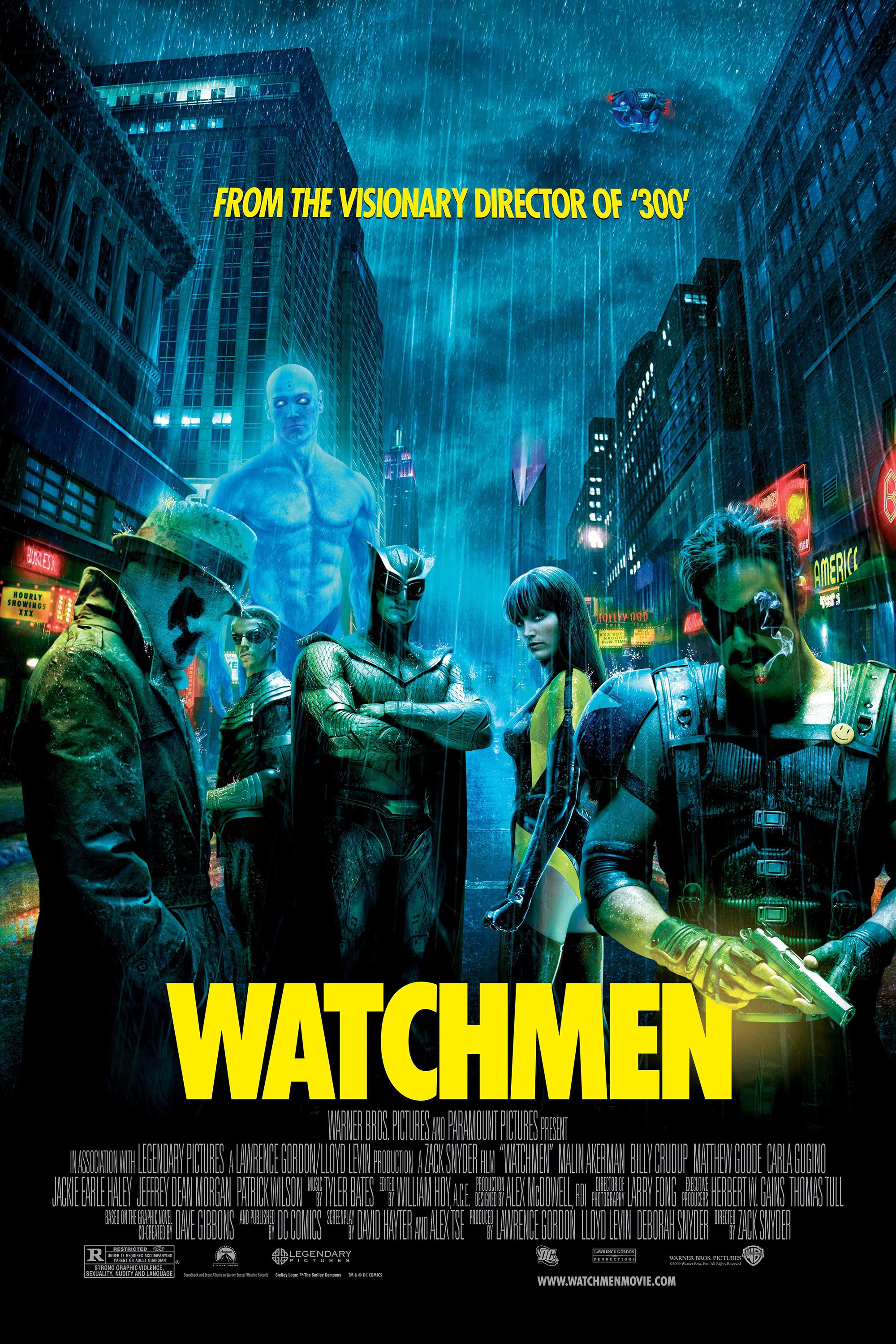 Image result for watchmen movie poster
