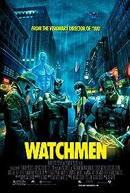 Billy Crudup, Malin Akerman, Matthew Goode, Jackie Earle Haley, Jeffrey Dean Morgan, and Patrick Wilson in Watchmen (2009)