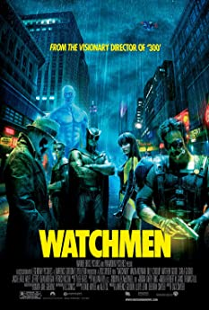 Billy Crudup, Malin Akerman, Matthew Goode, Jackie Earle Haley, Jeffrey Dean Morgan, and Patrick Wilson in Watchmen (2009)
