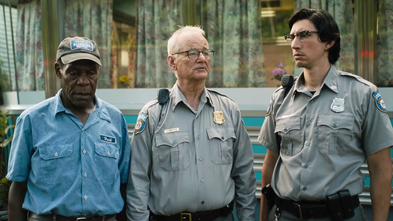 Bill Murray, Danny Glover, and Adam Driver in The Dead Don't Die (2019)