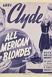 All-American Blondes Poster