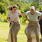 Luke Evans and Grace Van Patten in Earth Day (2021)