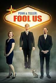 Alyson Hannigan, Penn Jillette, and Teller in Penn & Teller: Fool Us (2011)