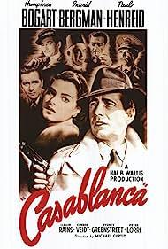 Ingrid Bergman and Humphrey Bogart in Casablanca (1942)