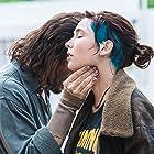 Stefano Accorsi and Matilda De Angelis in Veloce come il vento (2016)