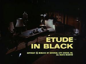 Étude in Black
