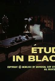 Étude in Black Poster