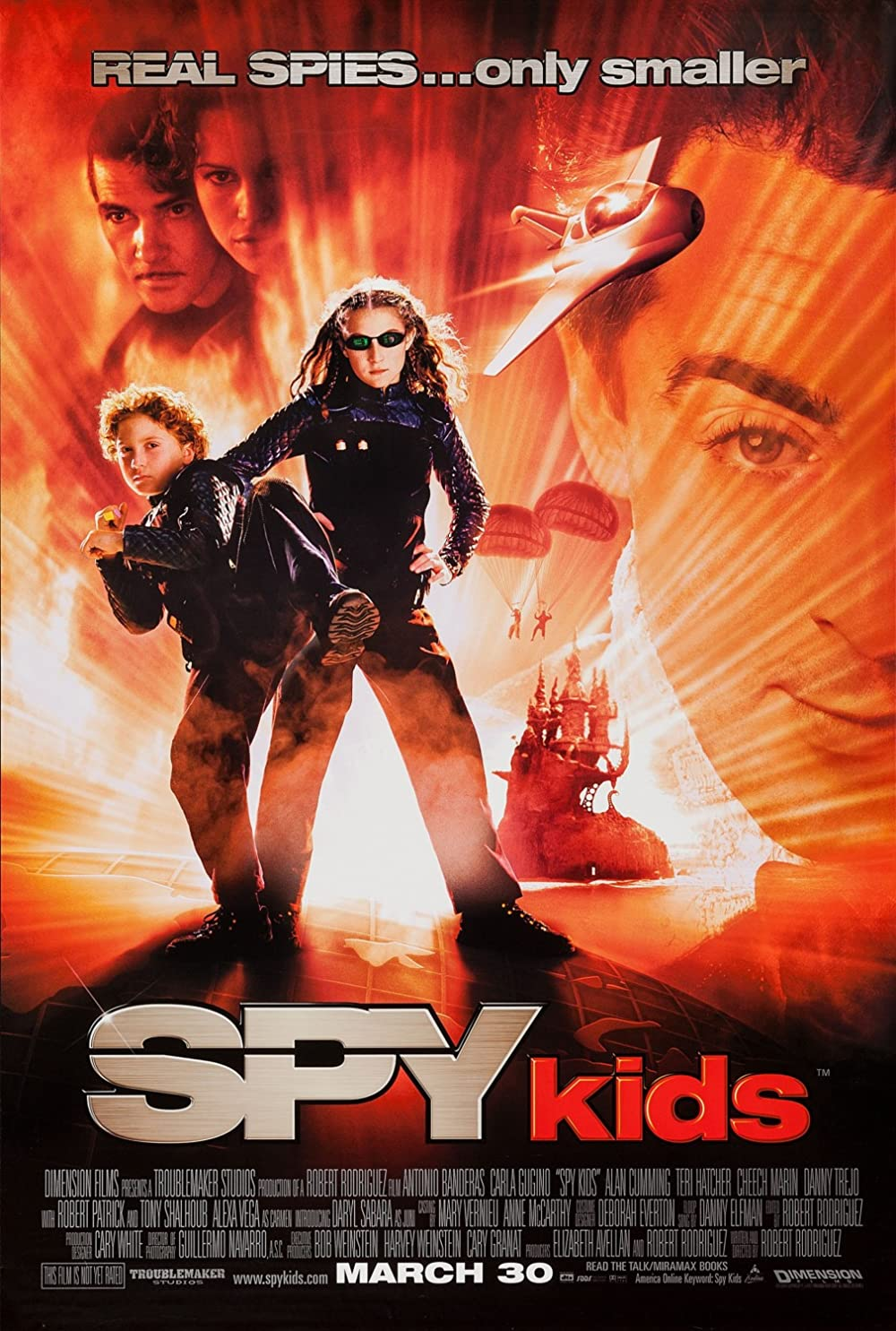 Spy Kids 2001 Dual Audio Hindi 720p BluRay ESub 690MB Download