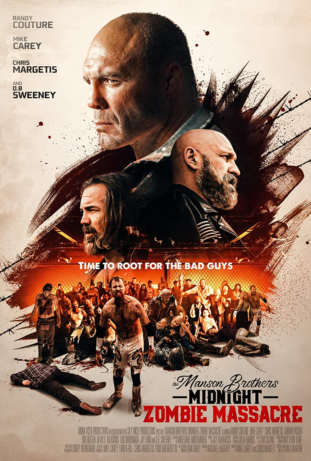 The Manson Brothers Midnight Zombie Massacre (2021) Hindi Dubbed 720p HDRip 800MB Free Download