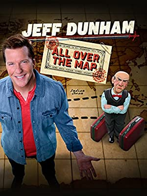 poster for Jeff Dunham: All Over the Map