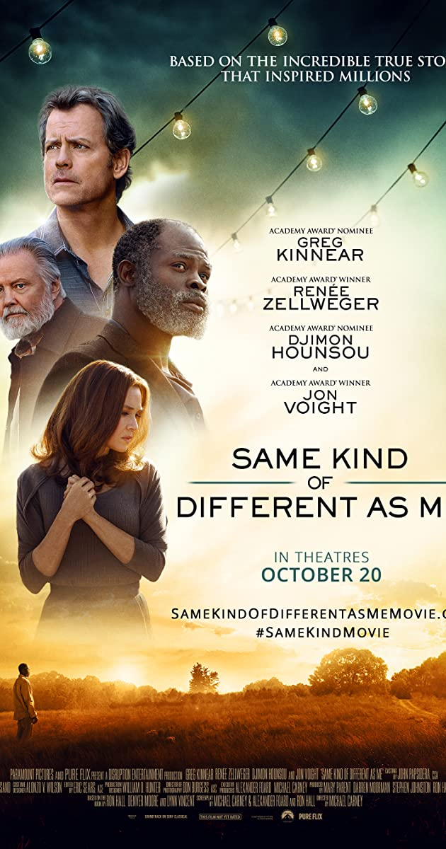 Subtitle of Same Kind of Different as Me