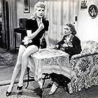 Betty Grable and Jane Wyman in Footlight Serenade (1942)