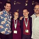 Jimmy Boratyn, Ryan Grundtisch, and Melissa Boratyn in Ginger (2018)