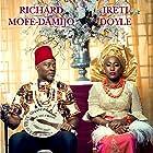 Richard Mofe-Damijo and Iretiola Doyle in The Wedding Party (2016)
