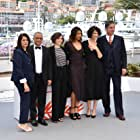 Hiam Abbass, Simon Abkarian, Zabou Breitman, Zita Hanrot, and Yasmina Khadra at an event for Les hirondelles de Kaboul (2019)
