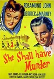 She Shall Have Murder (1950) Poster - Movie Forum, Cast, Reviews
