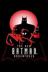 Tara Strong, Kevin Conroy, Loren Lester, and Mathew Valencia in The New Batman Adventures (1997)