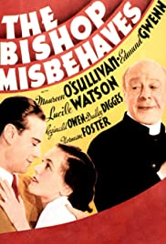 The Bishop Misbehaves Poster
