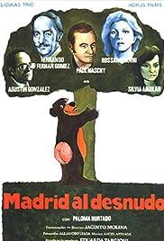 Madrid al desnudo Poster