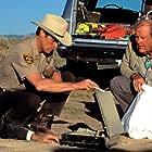 Willem Dafoe and M. Emmet Walsh in White Sands (1992)
