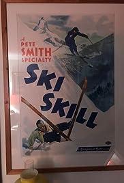 Ski Skill Poster