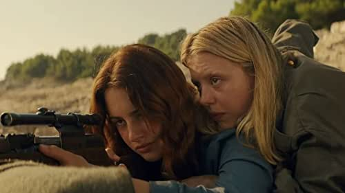 In director Karen Cinorre's bold new action fantasy film MAYDAY, Ana (Grace Van Patten) finds herself transported to a dreamlike and dangerous coastline. Once there, she joins a female army engaged in a never-ending war where the women lure men to their deaths with radio signals, like 20th century sirens. Though Ana finds strength in this exhilarating world, she comes to realize she is not the killer they want her to be.  Also starring Mia Goth, Havana Rose Liu, Soko, Théodore Pellerin and Juliette Lewis, MAYDAY will be released by Magnolia Pictures on October 1st in theatres and on demand.