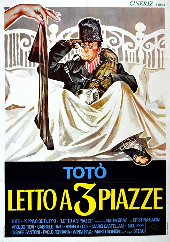 Letto A 3 Piazze.Letto A Tre Piazze 1960