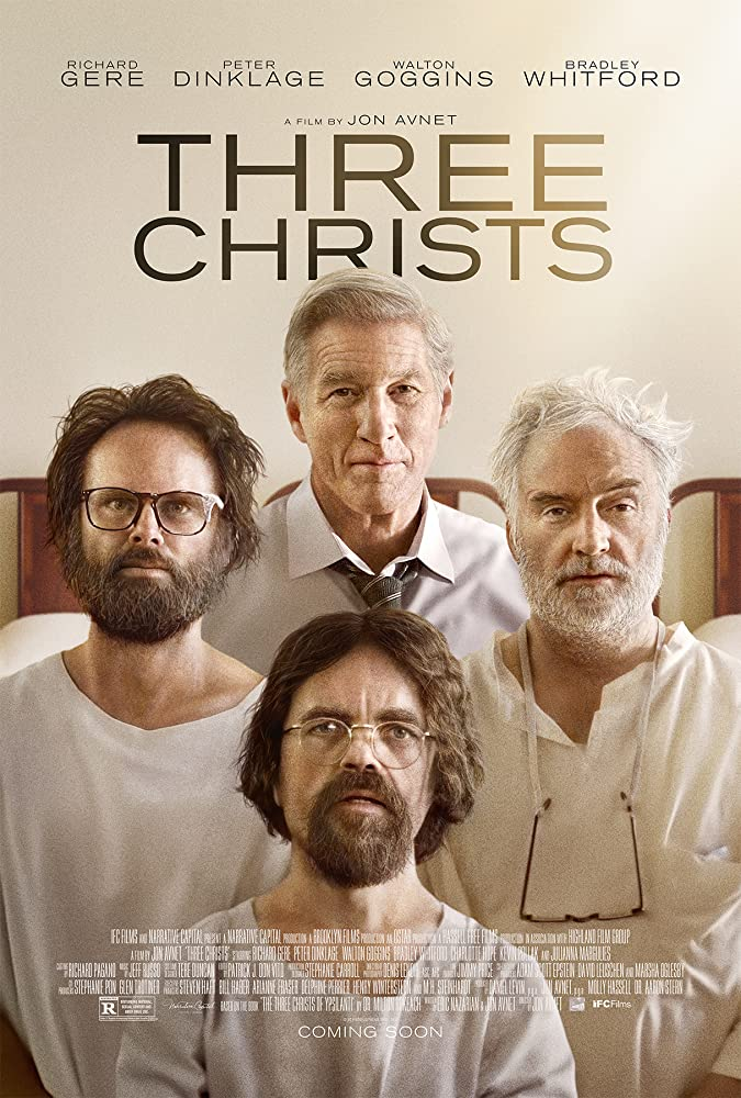 Richard Gere, Peter Dinklage, Walton Goggins, and Bradley Whitford in Three Christs (2017)