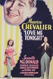 Love Me Tonight Poster